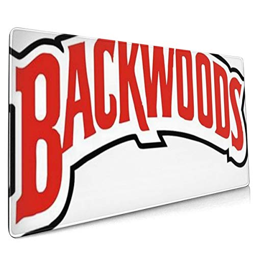 Backwoods Mouse Pad Rectangle Non-Slip Rubber Comfortable Desk Gift 15.8x29.5 in
