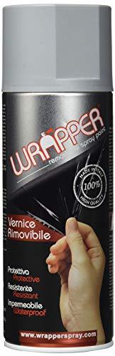 WRAPPER 400WRAPPER7001 Vernice Removibile, Grigio Argento, 400 ml