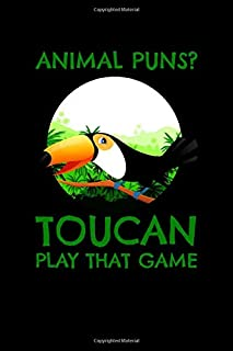 Animal Puns Toucan Play That Game: Weekly Planner