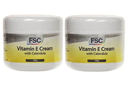 FSC Vitamin E Cream With Calendula 100ml (Pack of 2)