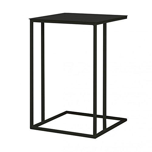 ikarus Talsi Beistelltisch 40 x 40 cm, h 60 cm - schwarz
