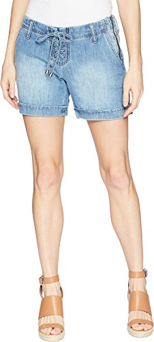 Liverpool Women's Cassidy Short Soft Rigid Denim, Beacon Handsand, 8