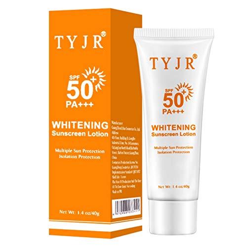 Ofanyia Spf50 + Crème Solaire Crème Solaire Hydratante Hydratante Anti-UV Protection Solaire Imperméable Pour Le Corps Visage