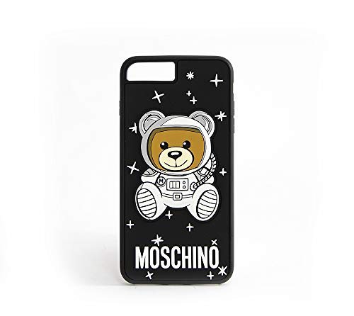 MOSCHINO Funda Osito Negra iPhone 6/6S/7/8 Plus