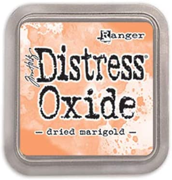 Ranger Tim Holtz Distress Oxide Dried Pad - NEW before Award-winning store selling Ink Marigold