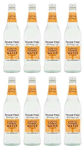 Fever Tree Refreshingly Light Clementine Tonic Water 500 ml (Pack of 8)