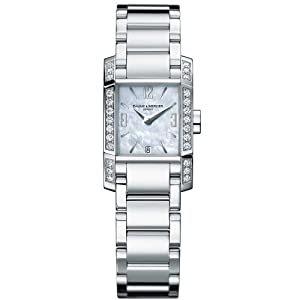 Baume & Mercier Women's 8666 Diamant Swiss Diamond Watch Reviews and Now and review