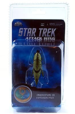 Star Trek Attack Wing Romulan Drone Ship Expansion Wave 11 Board Game