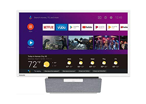Philips 24 inches Android Kitchen TV with Google Assistant (Renewed)