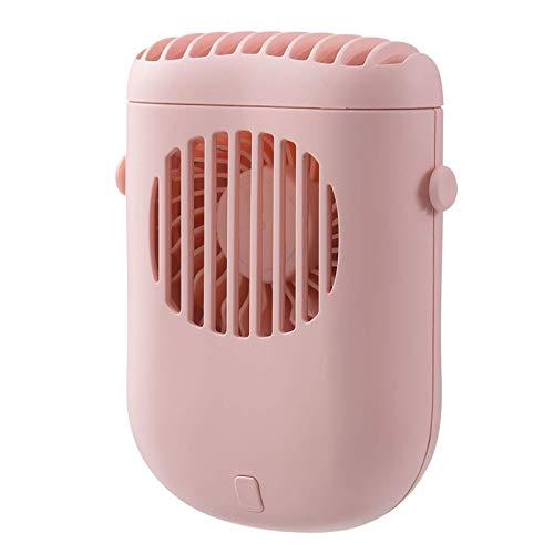 ROSEBEAR Mini ventilador portátil ligero y portátil ajustable de 3 velocidades para exteriores e interiores