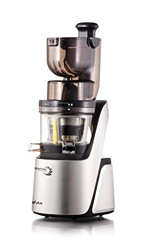 Chef Plus Essential Slow Juicer: Extractor de zumos, BPA Free, ultrasilencioso y con más Potencia 400W
