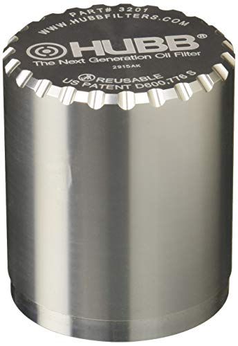 HUBB Filter 3201 Engine Oil Filter (3 Inch Filter- Thread 13/16-16)