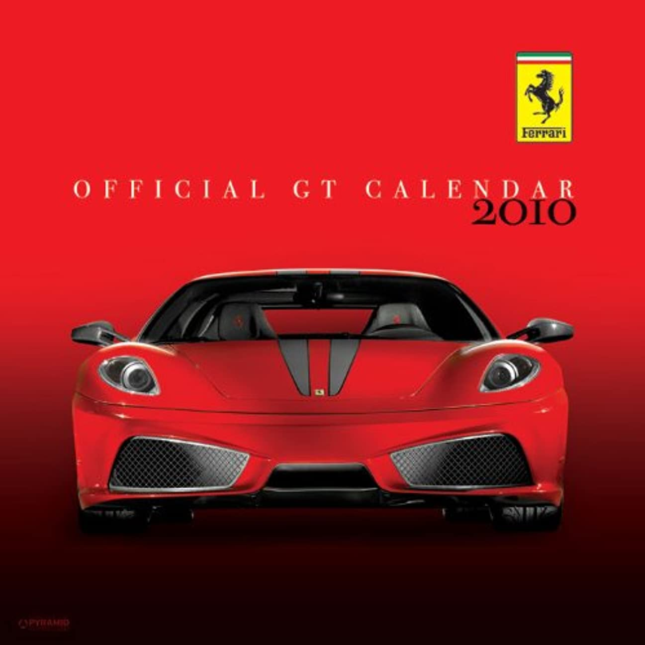 量クリープ民兵Ferrari GT Square Calendar 2010