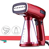Product Image of the BUSYPIGGY Upgrade Handheld Steamer for Clothes, Mini Foldable Portable Steamer, Clothes Steamer for Traveling, 3 Steaming Modes, 25s Fast Heating up, Auto-Off, Detachable and Replaceable Water Tank