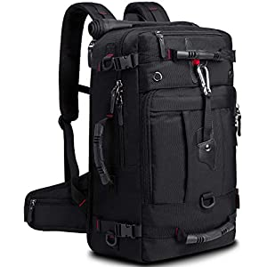 KAKA 35l Travel Backpack, Carry On Bag Durable Backpack Duffle Bag Fit for 15.6 Inch Laptop for Men and Women
