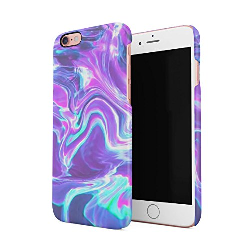 Holographic Water Print Tie Dye Rainbow Colorful Pale RAD Indie Boho Tumblr Hard Thin Plastic Phone Case Cover For iPhone 6 & iPhone 6s