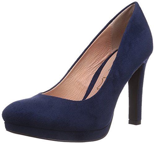 Buffalo Shoes Damen H748-1 P1804D Pumps, Blau (NAVY), 37 EU