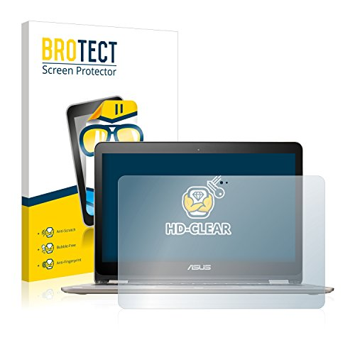 BROTECT Protector Pantalla Compatible con ASUS VivoBook Flip TP301UA Protector Transparente Anti-Huellas