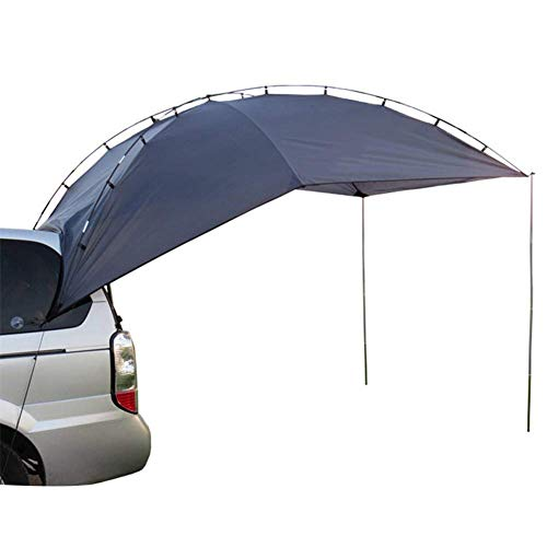 WYJBD Car Tent, Portable Can Fold, Me Polyester Fabric, Comfortable Durable, Waterproof Anti-Uv, For Self-Driving Tour Outdoor Camping Seaside