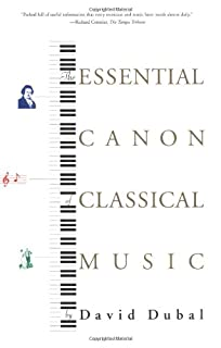 The Essential Canon of Classical Music (0865476640) | Amazon price tracker / tracking, Amazon price history charts, Amazon price watches, Amazon price drop alerts