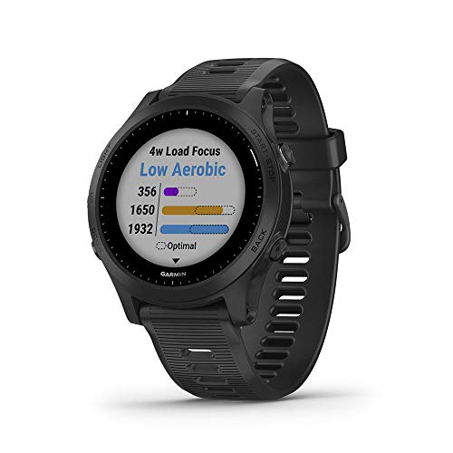 Buy Discount Garmin Forerunner 945, Premium GPS Running/Triathlon Smartwatch with Music, Black
