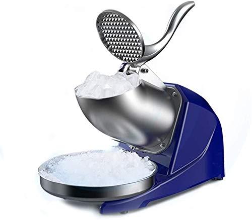 Ice Crusher Machine für Heim- und Kommerziellen Ice Crusher, elektrische Ice Shaver Maschine, Edelstahl Schnee-Kegel-Maschine for Eis, kalte Getränke, Obst Dessert Und Cocktail, for Haushalt & Commerc
