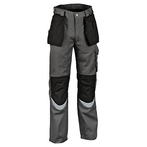 Cofra V064-0-04.Z50 - Pantaloni da Carpentiere, Taglia 127 cm, Colore: Antracite/Nero