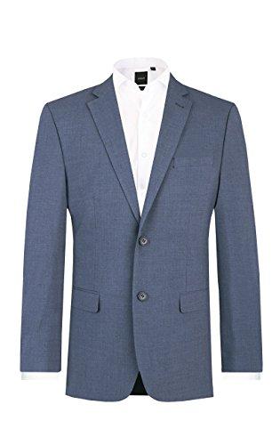 Dobell Herren Anzug Jackett Orion Blau Regular Fit-30