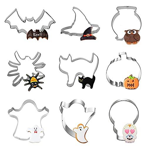Moldes Repostería Galletas Halloween Marca FVSA