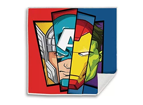 Kid Licensing Surtido Toallitas Magicas 4 Diseño Spider-Man Y Avengers 30X30Cm - Toallas