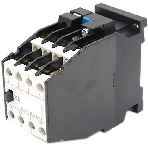 Baomain AC Contactor CJX1-12/22 3 Pole 2NO+2NC 660V 20A Coil 220V