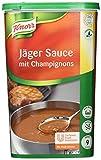 Knorr Jäger Sauce mit Champignons (braune Sauce, mittlere Bindung) 1er Pack (1 x 1 kg)