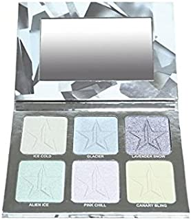 Jeffree Star Holiday Glitter Collection - Platinum Ice Skin Frost Pro Palette