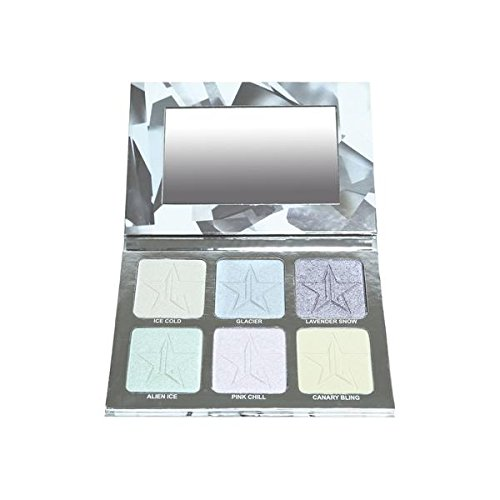 Jeffree Star Glitter Collection - Platinum Ice Skin Frost Pro Palette