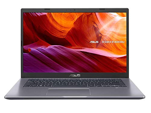 ASUS VivoBook 14 X409FA-EK502T Intel Core i5 8th Gen 14-inch FHD Compact and Light Laptop (8GB RAM/512GB NVMe SSD/Windows 10/Integrated Graphics/FP Reader/1.6 kg), Slate Gray