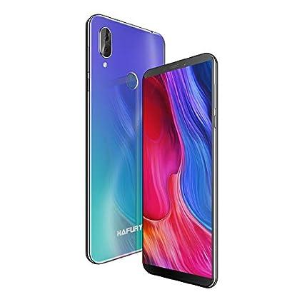 HAFURY NOTE 10 - Smartphone, 4G, Android 9, Dual Sim, Libre Desbloqueado, 4GB RAM+32GB ROM, ampliable hasta 128 GB, teléfono móvil doble cámara 8MP+16MP, Aurora