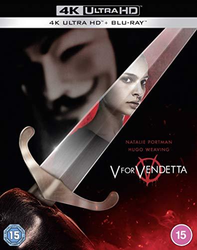V wie Vendetta 4K [Blu-Ray] [Region Free] (Deutsche Sprache)