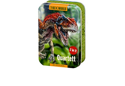 Coppenrath Verlag 15014 Quartett T-Rex World