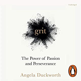 Grit     The Power of Passion and Perseverance              Written by:                                                                                                                                 Angela Duckworth                               Narrated by:                                                                                                                                 Angela Duckworth                      Length: 9 hrs and 21 mins     34 ratings     Overall 4.5