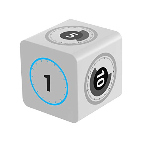 Fshark Temporizador cubo con sensor giroscopio para niños, cocina, reuniones, estudio, ejercicios, siestas, barbacoas