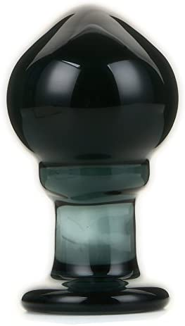 """NewMaxer 4.3"""" Big Manufacturer OFFicial shop Glass Anal Persona Plug Special sale item Crystal Butt"""