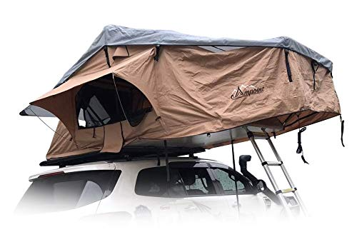 Campoint 2-3 Person Sunroof Rooftop Tent with Skyline Rainfly and Ladder