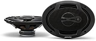 Alpine SPJ-691C3 Alpine 6 x 9 Inches Coaxial 3-Way Speaker, Set of 2