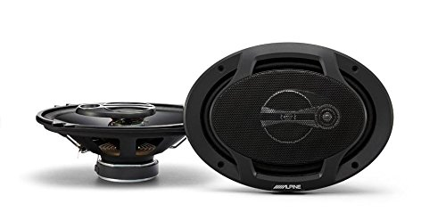 Alpine SPJ-691C3 Alpine 6 x 9 Inches Coaxial 3-Way Speakers