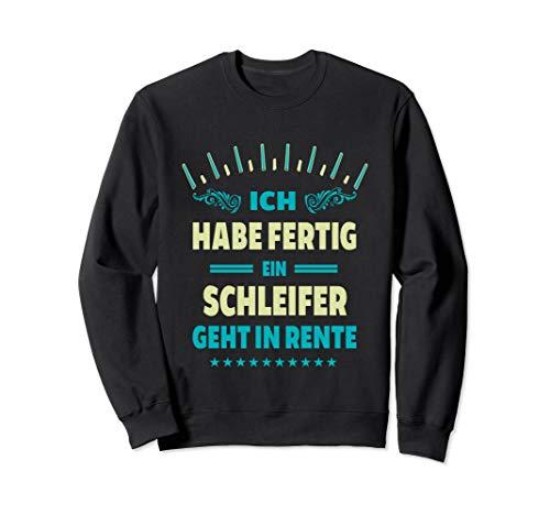 Schleifer Geschenk Job Beruf Handwerker Bauarbeiter Sweatshirt
