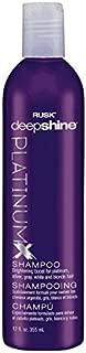 RUSK Platinumx Shampoo, 12 Fl Oz
