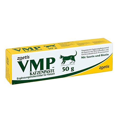 Zoetis - VMP Katzenpaste Ergänzungsfuttermittel für Katzen, 1er Pack (1 x 0.07 kilograms)