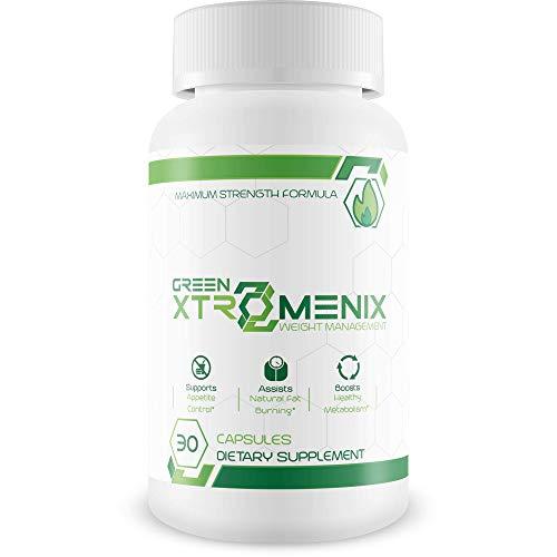 Green Xtromenix - Maximum Strength Green Coffee Been - Weight Management Supplement for Men and Women - 30 Capsules