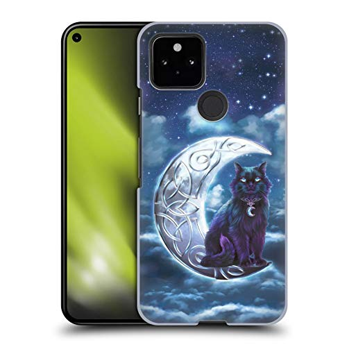 Head Case Designs Officially Licensed Brigid Ashwood Black Cat Celtic Wisdom 2 Hard Back Case Compatible with Google Pixel 5