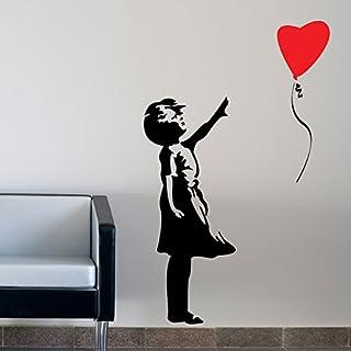 Banksy Bristol statue Noir vie Matter Vinyl Decal Transfert Autocollant